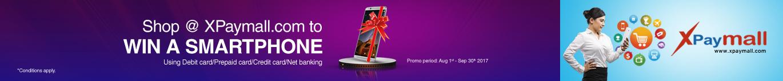 Shop @Xpaymall.com to win a Smart Phone